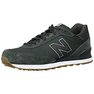 New Balance Men's 515 V1 Sneaker, Defense Green/White, 18 XW US