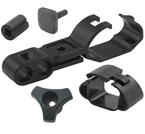 Bundle - 5 items: Thule Fairing Clip, Square Bar Adapter, Fairing Bolt, Fairing Wingnut, Rubber Spacer