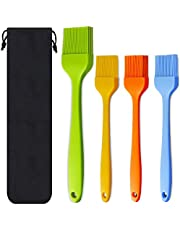 Silicone Basting Pastry Brush Spread Oil Butter Sauce Marinades for BBQ Grill Baking Kitchen Cooking, Baste Pastries Cakes Meat Sausages Desserts, Food Grade, Dishwasher safe