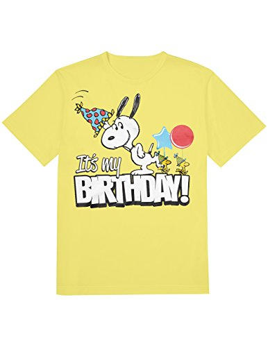 Snoopy It's My Birthday T-Shirt for Adults - Ideal Gift!
