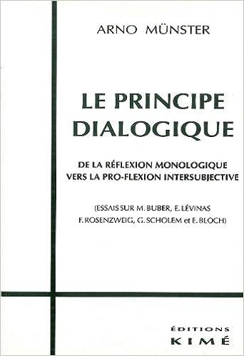Le principe dialogique: De la réflexion monologique vers la pro