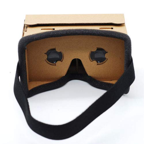FidgetFidget Headset Cardboard 3D VR Virtual Reality Google Movie Games Glasses for Phone New