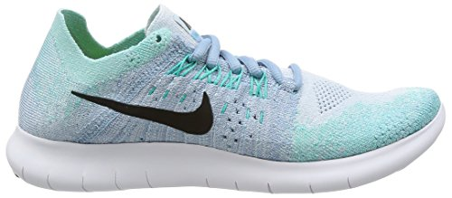 real cheap online NIKE Women's Free RN Flyknit 2017 Running Shoe Blue Tint/Black-cirrus Blue-aurora Green shop offer cheap online cheap sale deals cCsJUri