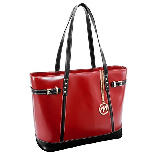 McKleinUSA SERAFINA  97566 Red Leather Women's Business Tote by McKleinUSA