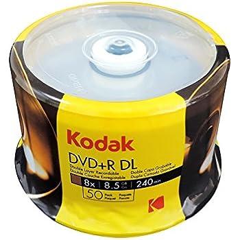 KODAK DVD DL 8.5GB 50PK