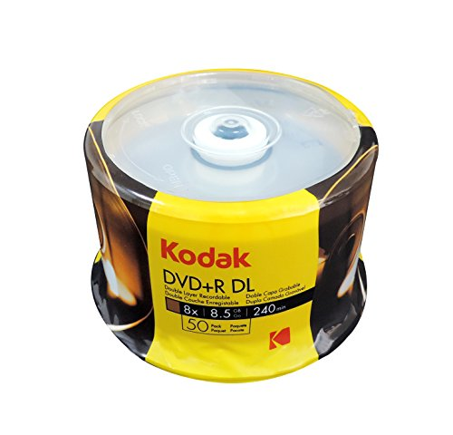 KODAK DVD DL 8.5GB 50PK