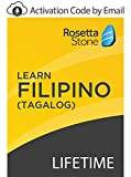 Rosetta Stone: Learn Filipino (Tagalog) with Lifetime Access on iOS, Android, PC, and Mac [Activation Code by Email]