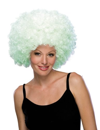 Rubie's Glow-In-The-Dark Supersize Afro Wig, Multicolor, One -