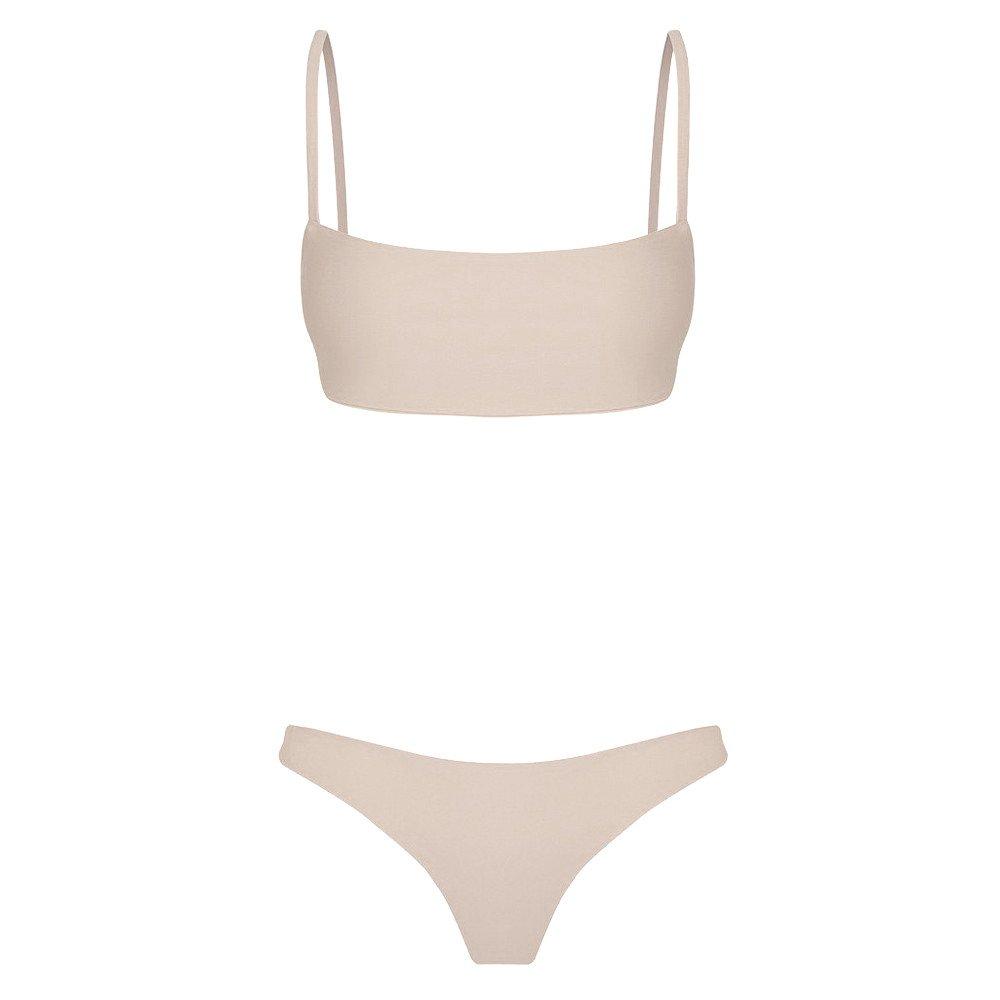 BaZhaHei Bikini de Mujer Traje de baño de Mujer Mujeres Bandeau ...