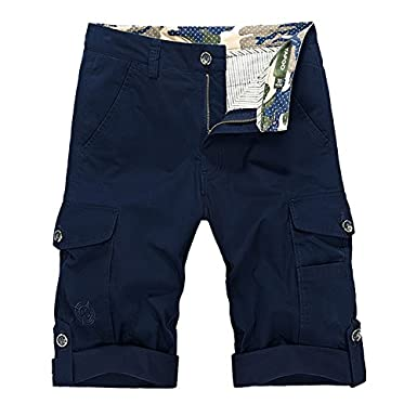 Cargo Short Men Summer Muti-Pockets Casual Shorts Military Tactical Shorts Homme