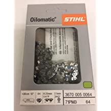 "STIHL Oilomatic 71PM3-64 12"" Saw Chain 3670-005-0064"