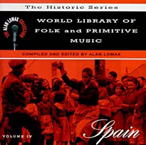 World Library Folk: Spain : Va-Alan Lomax Collection: Amazon.es ...