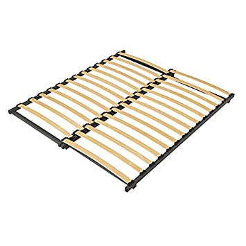 Slatted Bed Base Extendable 185cm Length Amazon Co Uk Kitchen Home