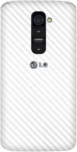 XGear EXO Skin Protective Vinyl Film for LG G2 (T-Mobile & Sprint) (White Carbon Fiber)