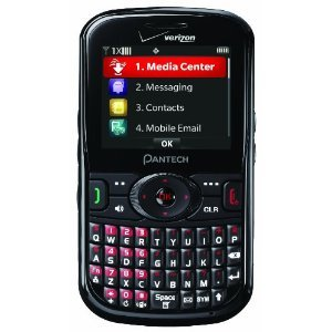Pantech Caper Phone Verizon Wireless Basic Info
