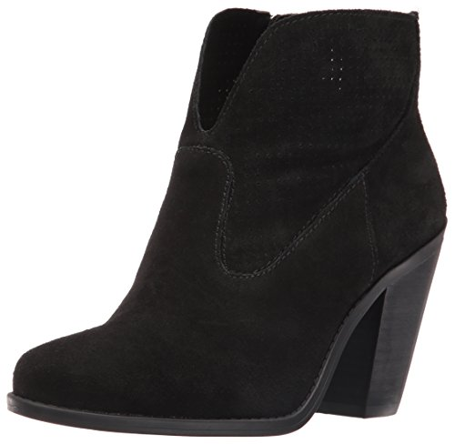Jessica Simpson Women's Caderian Ankle Bootie, Black, 7.5 M US