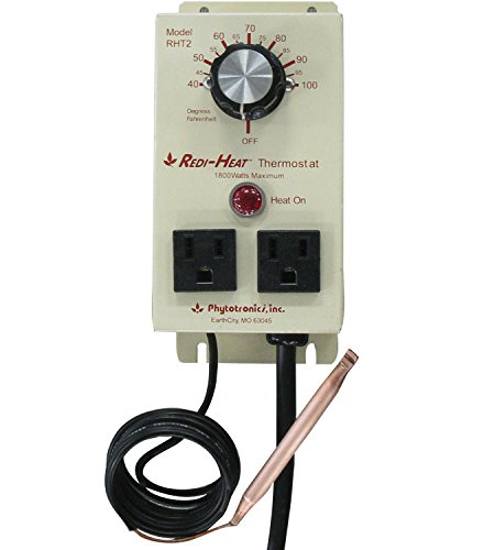 Phytotronics 8526 Redi-Heat Thermostat - 2 Outlet by Phytotronics