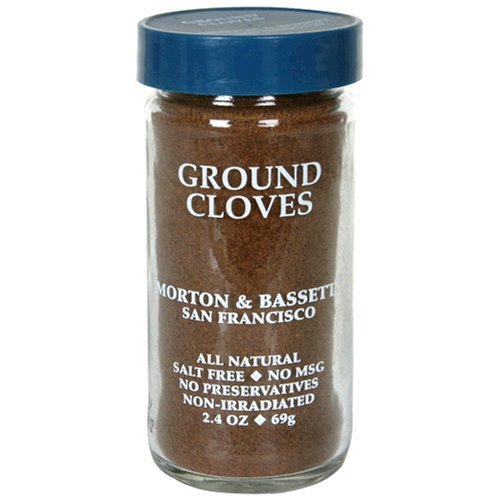 Morton & Bassett Ground Cloves, 2-Ounce Jars (Pack of 3) by Morton & Bassett