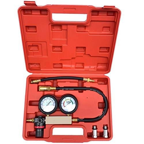 VICCKI Cylinder Leak Tester Petrol Engine Compression Leakage Leakdown Detector Kit
