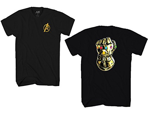Marvel Avengers Infinity War Gauntlet Fist Mens T-Shirt