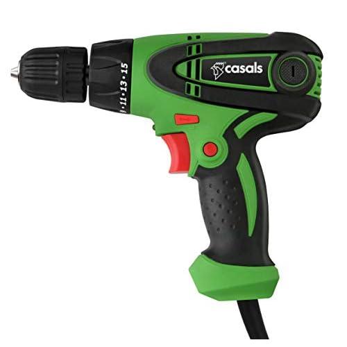 Casals VTA300 Taladro atornillador con cable, 300 W, 0-850 rpm, Verde a buen precio