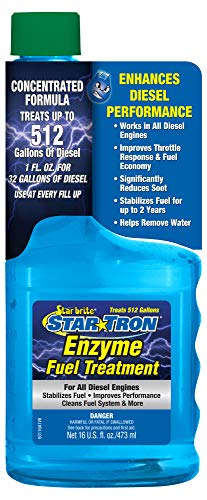 Star Tron Enzyme Diesel Fuel Treatment 16 oz. Super Concentrated Formula