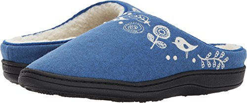 Acorn Women's Talara Mule Heathered Blue - Womens Acorn Slippers Size 6
