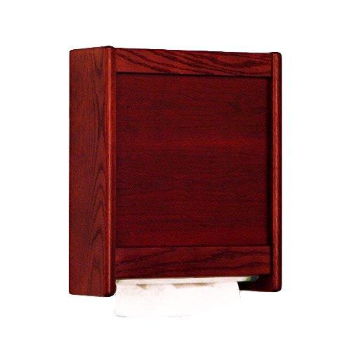 Wooden Mallet C-Fold/Multi-Fold Towel Dispenser, Mahogany (Wooden Paper Towel Dispenser compare prices)