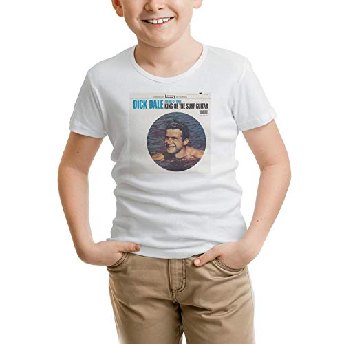 Dutte Lisa Short Sleeve Tees O-Neck Dick-Dale-King-of-The-Surf-Guitar-cd- T-Shirt for Kid
