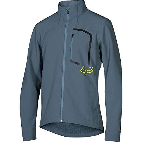 Fox Racing Attack Fire Softshell Jacket - Men's Blue Slate, L ()