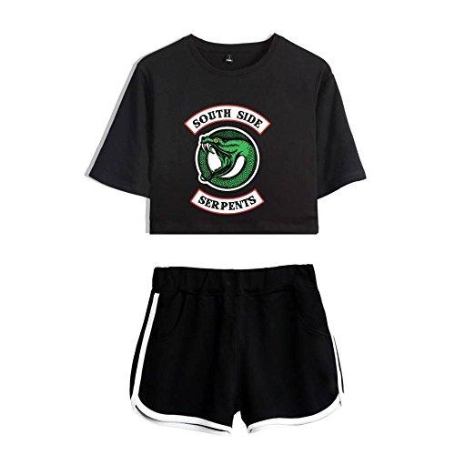 Top Serpents Shorts 2 Side Shorts Riverdale Top Crop Shirt e Riverdale South e T fSwvqS1