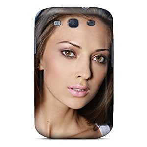 New Style Tpu S3 Protective Case Cover/ Galaxy Case - Anna Sbitnaya Model Brunette Look Charm