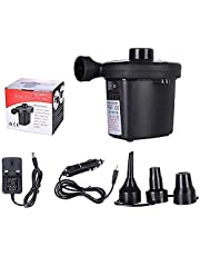 Portable Electric Air Pump With Different Air Filling Nozzles Electric Air Pump, Perfect Inflator Deflator Pumps for Outdoor Camping Inflatable Cushions, Air Mattress Beds Boats Swimming Ring