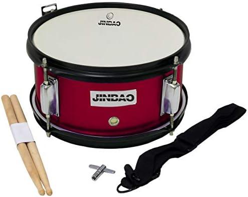 Tambor infantil para niños ROCKSTAR JINBAO SMD1005-BL color vino metalizado: Amazon.es: Instrumentos musicales