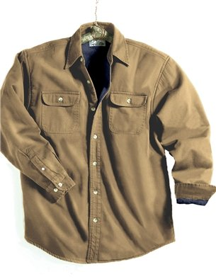 Amazon.com: Men's Denim Tahoe Long Sleeve Shirt Jacket - Dark ...