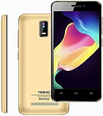 4.0 Pulgadas Telefono 4G Movil Libre HD IPS 1GB RAM 8GB ROM Dual SIM Dual Cámara (Oro) TEENO: Amazon.es: Electrónica
