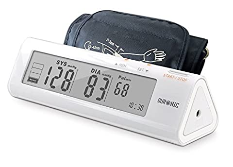 Duronic [ BPM450 ] Intelligent Fully Automatic Upper Arm Blood Pressure Monitor - Digit Finger Pulse Oximeter