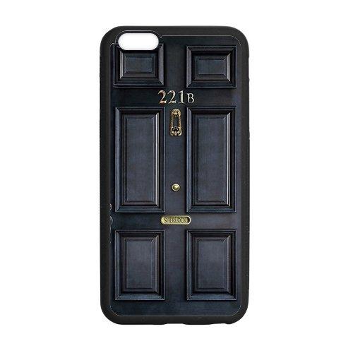 LeonardCustom Protective TPU Rubber Gel Coated Cover Case for iPhone 6 Plus 5.5 inch, Sherlock LCI6PU31