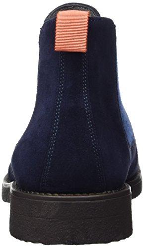 Pollini Men's M.Ankle Chelsea Boots Blue (Navy) 6WGw80N