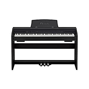 Casio PX750 BK 88-Key Touch Sensitive Privia Digital Piano with USB Connectivity (OLD MODEL)