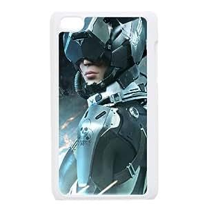 Rising Force funda iPod Touch 4 caja funda del teléfono celular blanco cubierta de la caja funda EEECBCAAJ06055