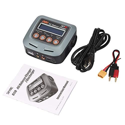 Florencinid Cargador del Balance SKYRC S60 60W AC/descargador de batería Li-Po LiHV Life RC