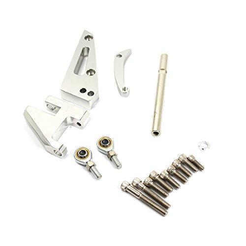 Chevy SBC 350 Short Water Pump Swp Aluminum Alternator Bracket Kit Polished