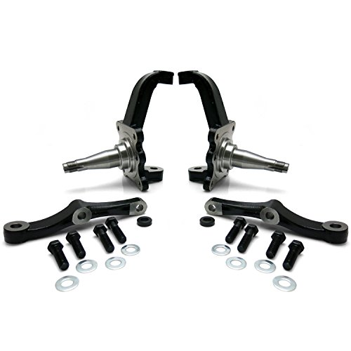 Height Spindles Stock (Helix Suspension Brakes and Steering HEXSPIN20 Pro Touring Mustang II & Pinto Stock Height Spindle (Pair) mini bike mg tc)