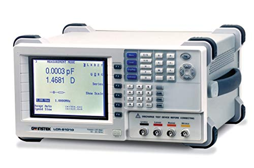 GW Instek LCR-8101G Series LCR-8000G Precision LCR Meter with RS-232/GPIB Interface, 10 MHz Test Frequency