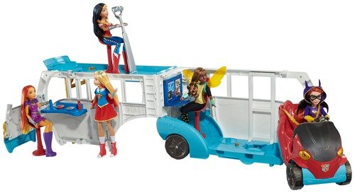 DC Super Hero Girls School Bus