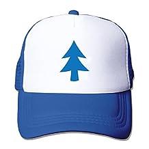 Adult mesh baseball cap Dipper Blue Tree Trucker Hat (5 colours)