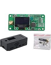MMDVM DMR P25 YSF DSTAR Wireless Hotspot boord met enkele Hotspot uitbreidingskaart OLED Panel Case Antenna Kit Black