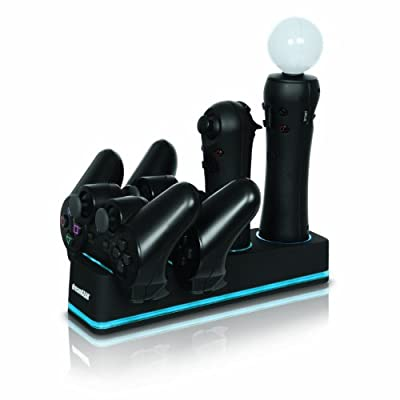 Ps3 Move Quad Dock Pro by DreamGEAR