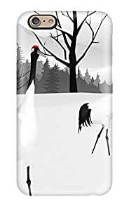 Iphone 6 Hard Back With Bumper Cases Covers Winter Scenes